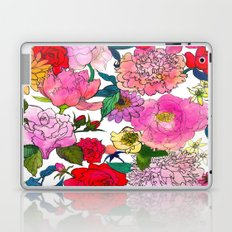 Peonies & Roses Laptop & iPad Skin