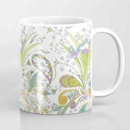 Whimsical Paisley Iris Coffee Mug
