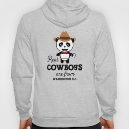 Real Cowboys are from Washington D.C. T-Shirt Hoody