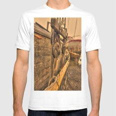 Rigging Mens Fitted Tee MEDIUM White