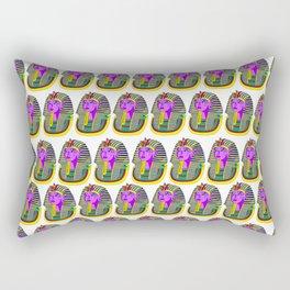 Tut $WA6 pattern Rectangular Pillow