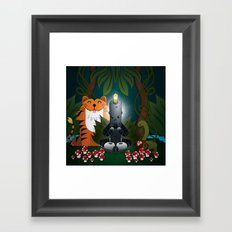 OMMMM! (Sweet ohm) Framed Art Print