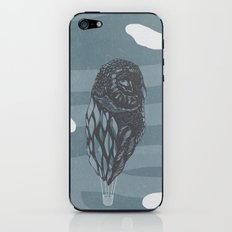 Hot Owl Balloon iPhone & iPod Skin