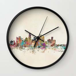 los angeles california Wall Clock