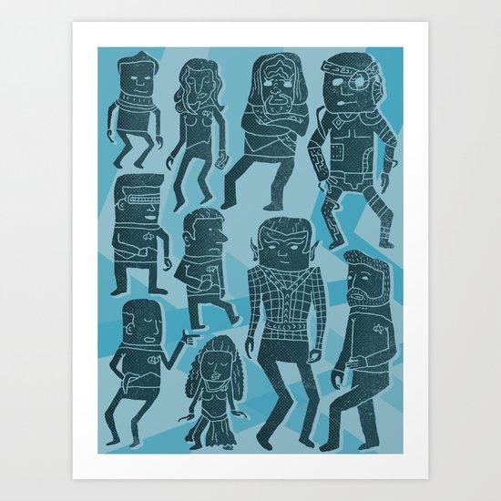 Holodeck Art Print
