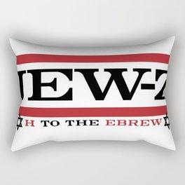 Jay-Z, umm I mean Jew-Z (H to the EBREW)! Rectangular Pillow