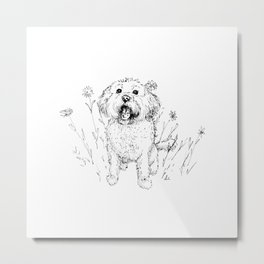 Cute Doggy Metal Print