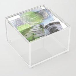 garden steps Acrylic Box