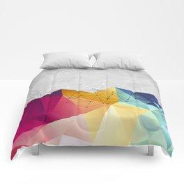 Polygons on Concrete Comforters