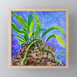 Ferny Framed Mini Art Print