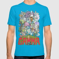 GAMMA cover MEDIUM Teal Mens Fitted Tee