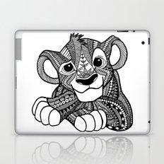 Zentangle Simba Laptop & iPad Skin