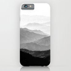 Mountain Mist - Black and White Collection iPhone 6 Slim Case