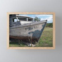Go With the Flo Framed Mini Art Print