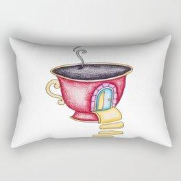 Coffee House 3 Rectangular Pillow