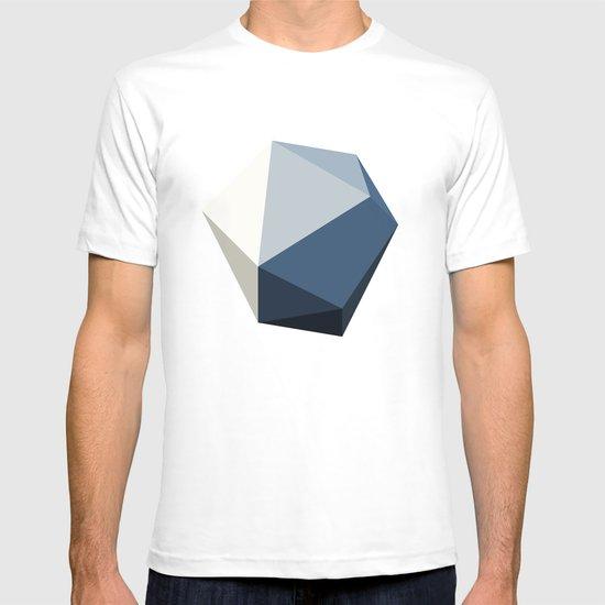 Minimal Geometric Polygon Art T-shirt
