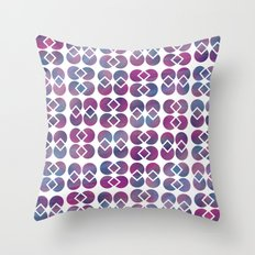 Broken Geometry 4 Throw Pillow