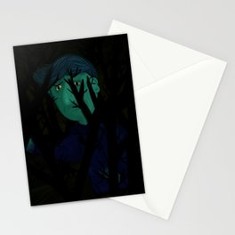 Navigating the dark Stationery Cards