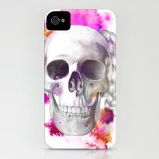 Braided Skull Slim Case iPhone (4, 4s)