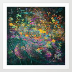 375 5 Abstract Fairy Tale Painting Art Print