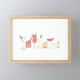Cocktail Framed Mini Art Print