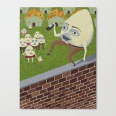 Humpty Dumpty Canvas Print