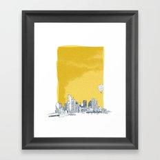 Dallas Framed Art Print