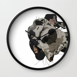Great Dane Wall Clock