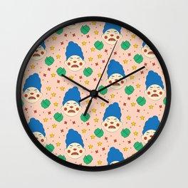 Tantrum Pattern Wall Clock