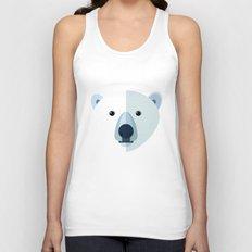 Polar bear Unisex Tank Top