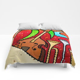 Tropical Jazz Comforters