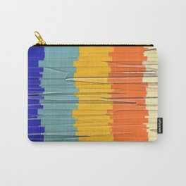 Shredded Stripes Carry-All Pouch