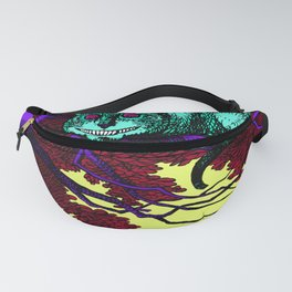 The glowing Cheshire Cat Fanny Pack