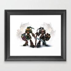 Mirror Reforged Framed Art Print