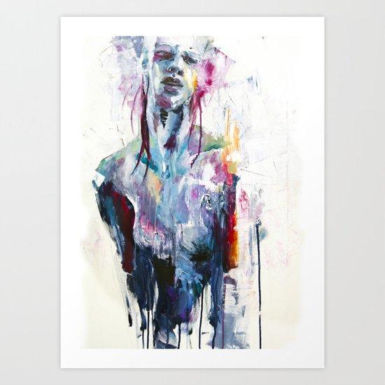 nothing is enough Art Print