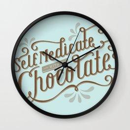 Chocolate RX Wall Clock