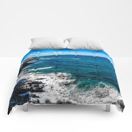 Mediterranean sea Comforters