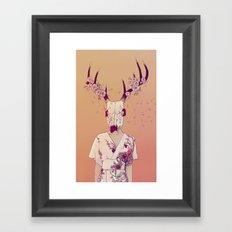 Sakura Lady Framed Art Print