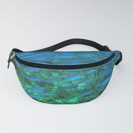 Blue Fish Exodus Fanny Pack
