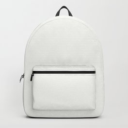 Pearl White - Solid Color Collection Backpack