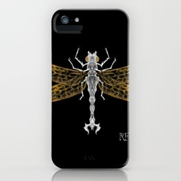 Royal Dragonfly iPhone Case