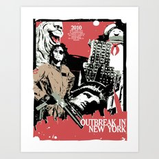 Outbreak in New York Art Print