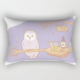 The Owl's bar Rectangular Pillow