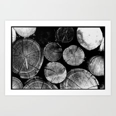 Wood Love Art Print