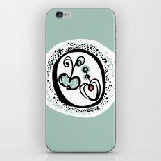 Apple Heart iPhone & iPod Skin