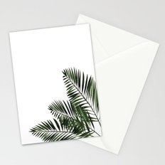 Tropical Exotic Palm Leaves I on #Society6 Stationery Cards