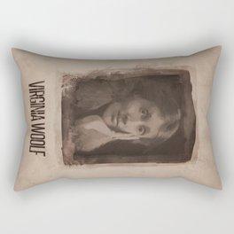 Virginia Woolf Rectangular Pillow