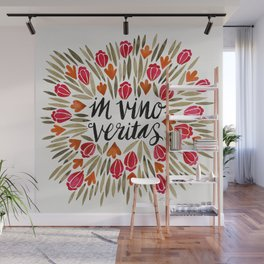 In Wine, There is Truth – Red Wall Mural