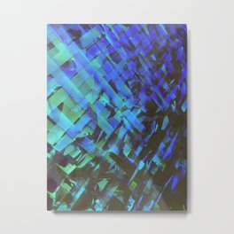 Criss cross Metal Print