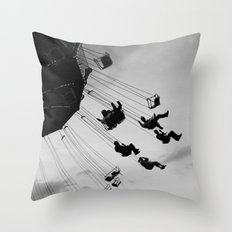 Swing Away Throw Pillow